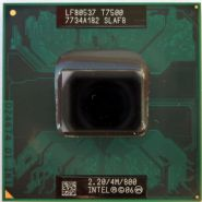 INTEL CORE 2 DUO PROCESSOR T7500  (4M CACHE, 2.20 GHZ, 800 MHZ FSB) SLAF8 PBGA479, PPGA478